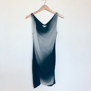 🆕 Helmet Lang Draping Dress